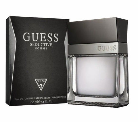Guess Seductive Homme by Guess for Men - Eau de Toilette, 100ml - 24kart