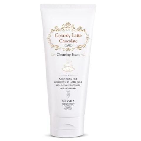 Missha Creamy Chocolate Latte Cleansing Foam - 24kart