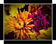 Awesome Flowers, Beautiful Pair By Gio - Stretched canvas print ready to hang
