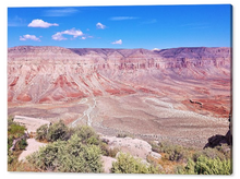 The Grand Canyon, Back at the Hualapai Hilltop By Gio - Stretched canvas print ready to hang