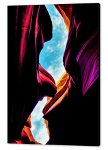 Antelope Canyon, The Immensity By Gio - Stretched canvas print ready to hang