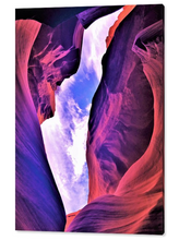 Antelope Canyon, Magical! By Gio - Stretched canvas print ready to hang