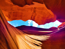 Antelope Canyon, Concealed Beauty By Gio - Stretched canvas print ready to hang