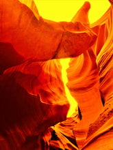 Antelope Canyon, Scorching Heat By Gio - Stretched canvas print ready to hang