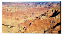 The Grand Canyon, Wonderful Meeting Point By Gio - Stretched canvas print ready to hang