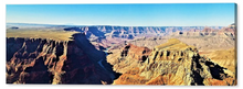 The Grand Canyon, The River and Its Work of Art By Gio - Stretched canvas print ready to hang