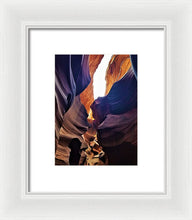 Imaginary Creature In The Great Gallery - Framed Print