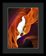 Looking Out In Awe - Framed Print