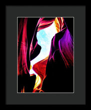 Rocks, Sunlight And Magical Colors - Framed Print