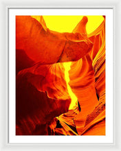 Scorching Heat - Framed Print
