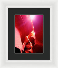 The Gift From The Sun - Framed Print