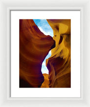 The Sky Is My Winess - Framed Print