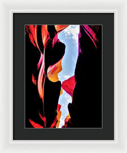 Under A Magical Spell - Framed Print