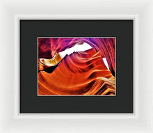 Under Rocks And Colors - Framed Print
