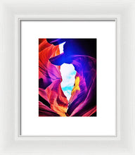 Window In The Rocks - Framed Print