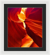 Yellows And Reds - Framed Print