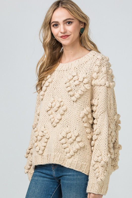 Cozy Nights Knit Sweater