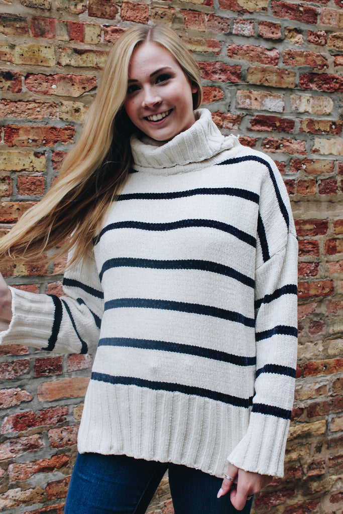 The Aspen Oversized Turtleneck Sweater
