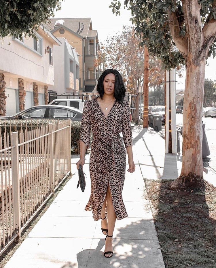 Bardot Leopard Dress