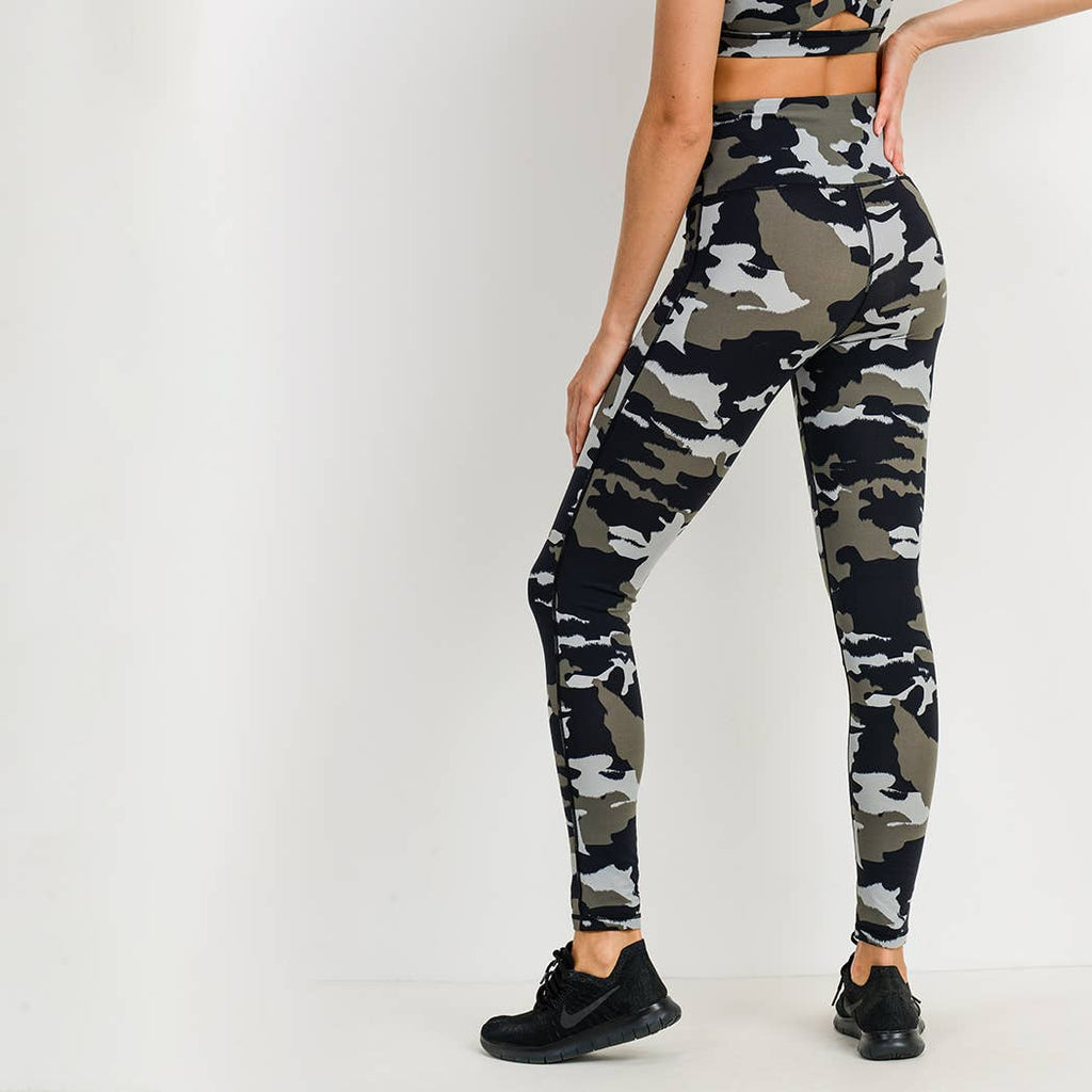 Jungle Camo Highwaist Leggings