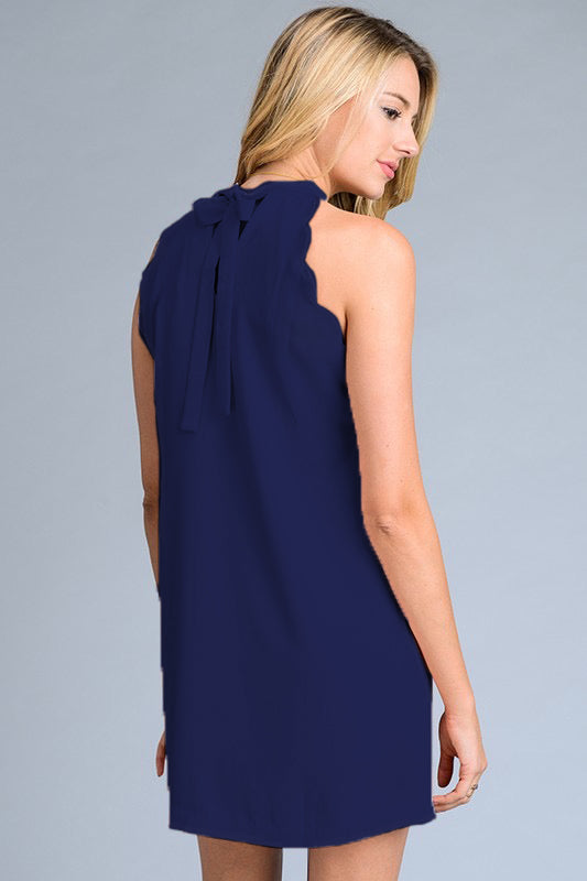 The Ivy Navy Dress