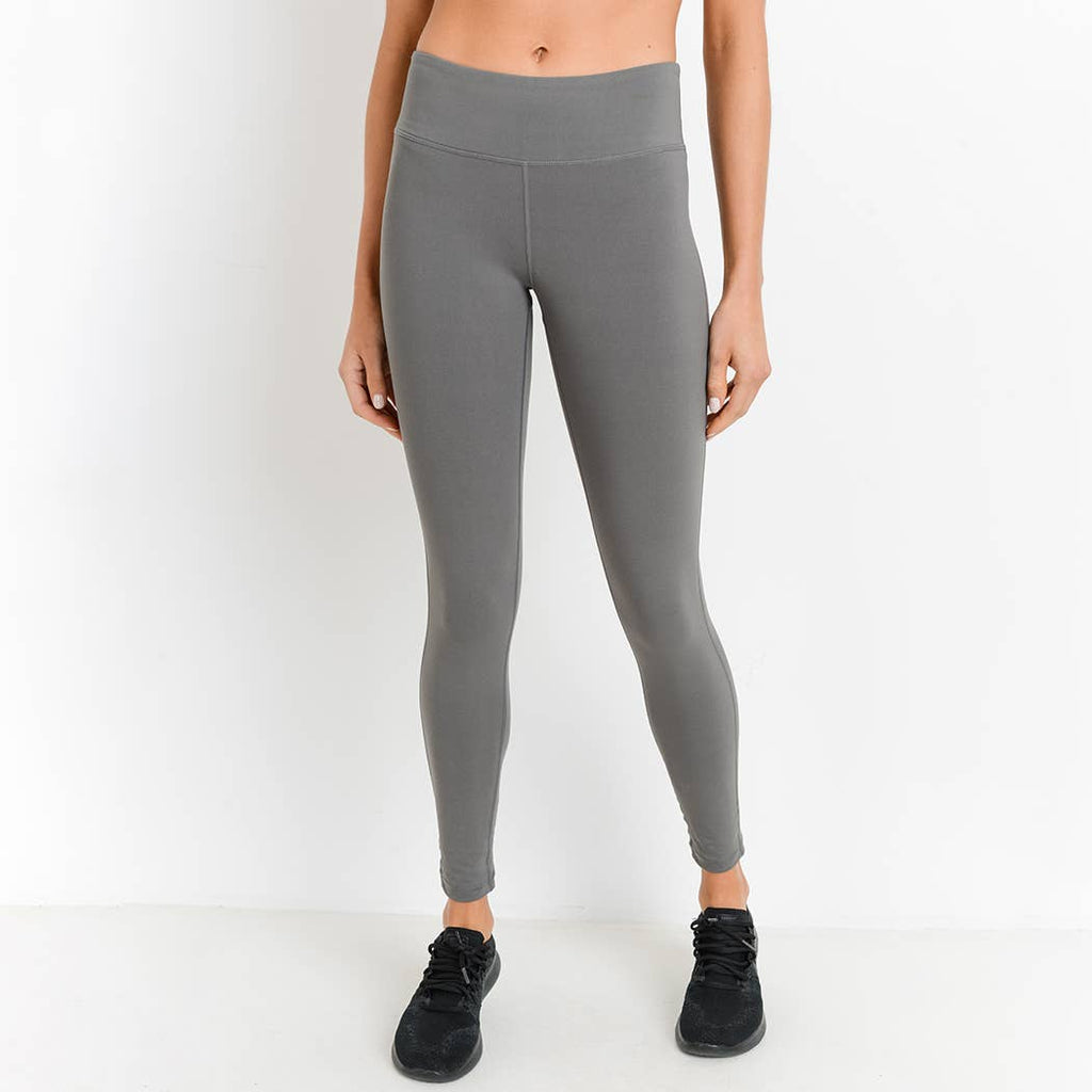 Exhale Grey Leggings