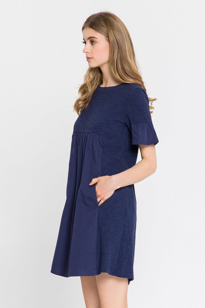 Namesake Navy Dress
