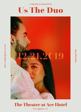VIP Meet & Greet Package - Us The Duo -- 12.21.19 The Theater at Ace Hotel