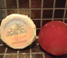 Sunkissed glycerin soap
