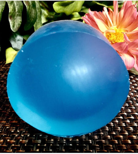 Blue Lagoon glycerin soap