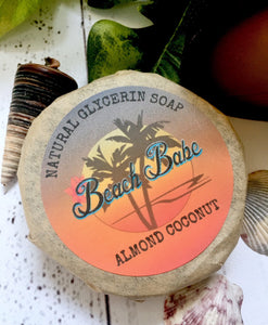 Almond Coconut glycerin soap