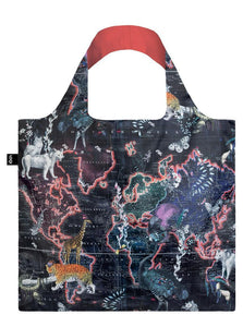 World Map Loqi bag by Kristjana S Williams Interiors