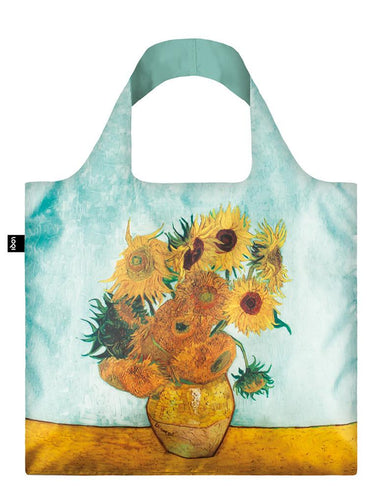 Loqi Vincent van Gogh Vase with Sunflowers bag