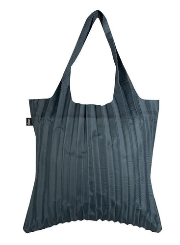 Loqi Pleated Charcoal bag
