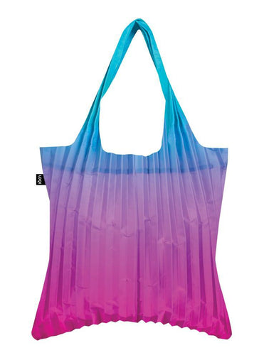 Loqi Pleated Rainbow blue bag