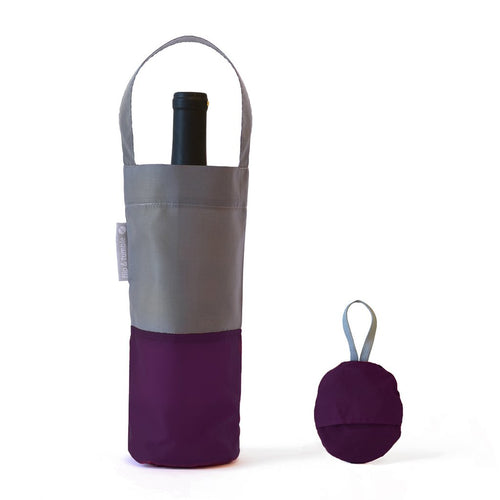 Flip & tumble Wine bag Aubergine