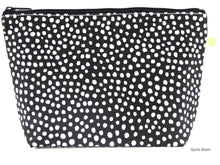 White and Black Travel Pouch