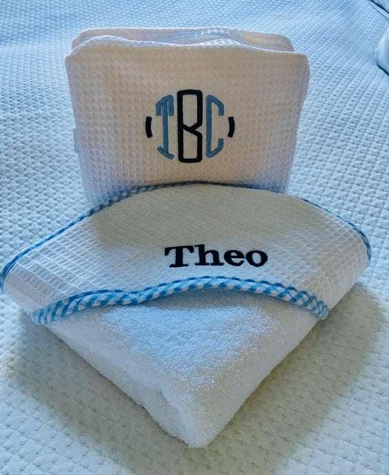 Hooded Towel and Washcloth Set