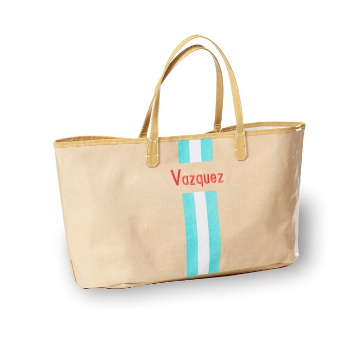 Racing Stripe Tote