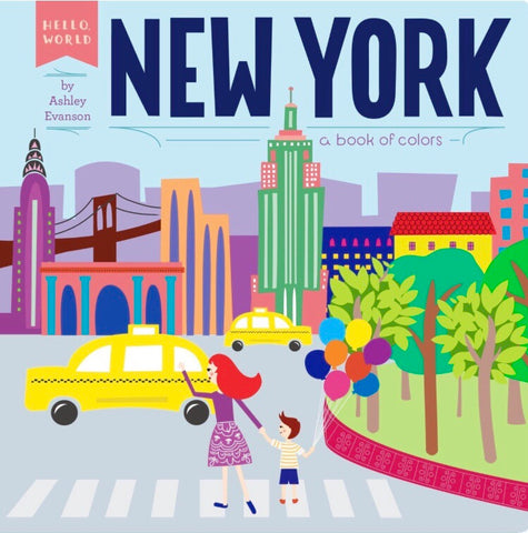 New York: A Book Of Colours