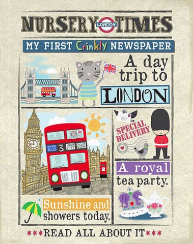 Nursery Times Crinkly Newspaper - A day trip to London