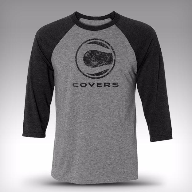 Covers 3/4 Baseball Tee (Unisex)