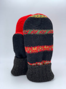 Recycled Sweater Mitten