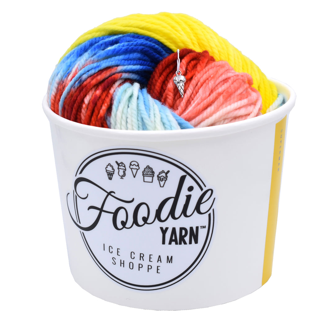 Super Heroine Ice Cream Yarn