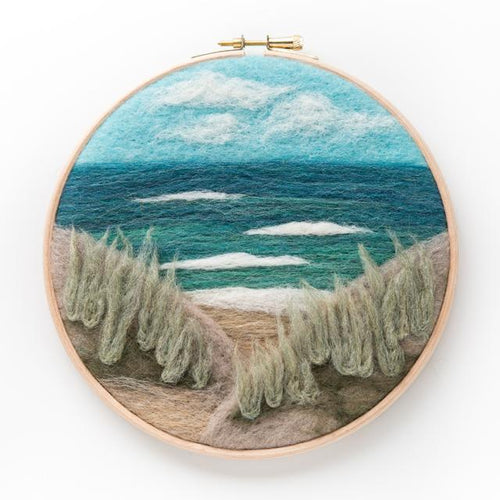 Beach View Needle Felting Kit