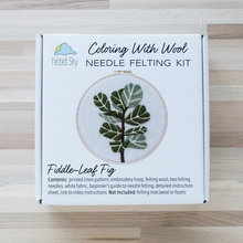 Fiddle-Leaf Needle Felting Kit