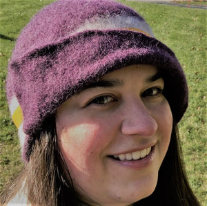 Suffrage Cloche Kit by Why Knot Fibers