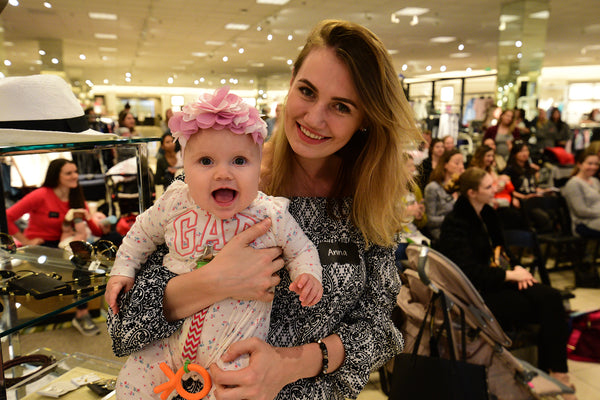 MOM Nordstrom event happy baby