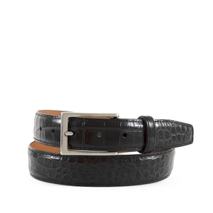 Genuine Semi-Shiny Alligator Belt