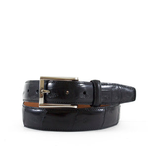 Genuine Shiny Crocodile Tail Belt